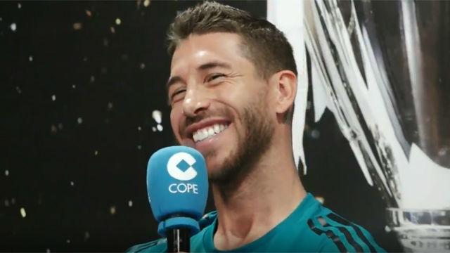 Ramos sobre el fichaje de Neymar: Tiene la puerta abierta