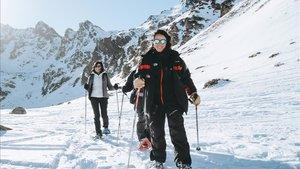Raquetas de nieve en Ordino Arcalìs