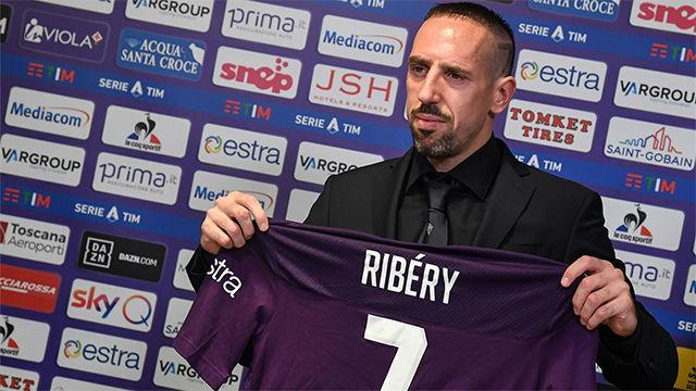 Ribéry: Quiero jugar hasta los 40, como Totti