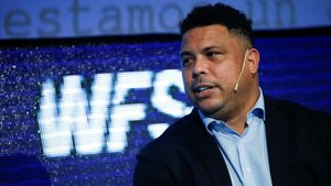 Ronaldo, en el foro World Football Summit