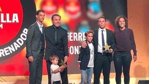 Rubi, galardonado como mejor entrenador por la FCF