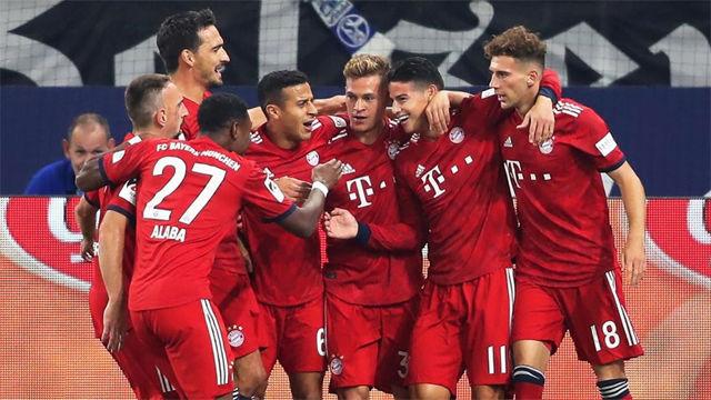 El Schalke no fue rival para el Bayern
