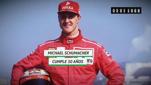 Schumacher cumple 50 años