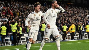 Sergio Ramos apareció en dos oportunidades para darle la victoria al Real Madrid