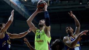 Tomic aportó 16 puntos y 6 rebotes a la victoria del Barça Lassa