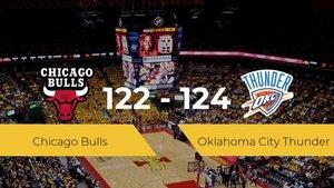 Triunfo de Oklahoma City Thunder ante Chicago Bulls por 122-124