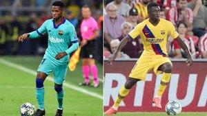 Valverde debe decidir qué papel tendrán a partir de ahora Ansu Fati y Dembélé