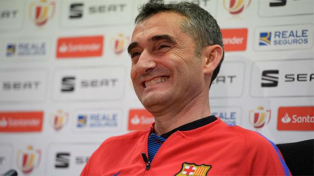Valverde ironizó sobre las informaciones de Argentina y el estado físico de Messi