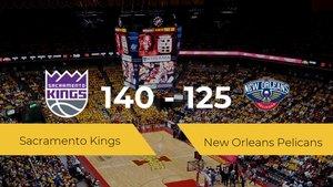 Victoria de Sacramento Kings en el Hp Field House ante New Orleans Pelicans por 140-125