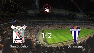 El Villarrubia se lleva tres puntos a casa después de vencer 1-2 al At. Sanluqueño