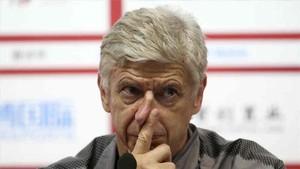 Wenger, entrenador del Arsenal