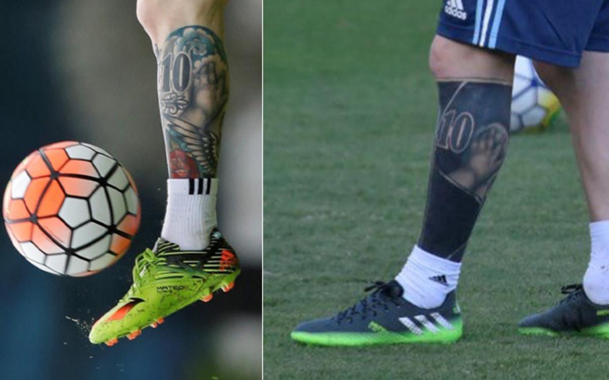 El Ultimo Tatuaje De Messi