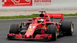 Sebastian Vettel marcó el récord del Circuit de Barcelona - Catalunya