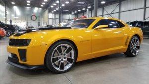 Chevrolet Camaro Bumblebee de Transformers.