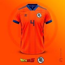 Un diseñador lanza el diseño de camisetas de fútbol inspiradas en Dragon  Ball a6db15f40019b