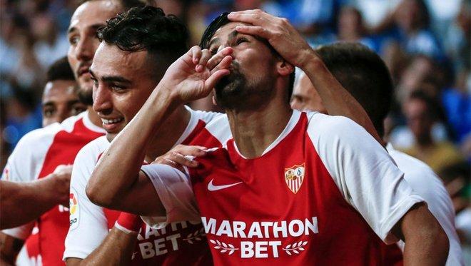 Nolito vuelve a sonreir en Sevilla