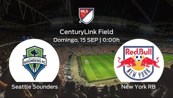 Jornada 36 de la Major League Soccer: previa del duelo Seattle Sounders - New York RB