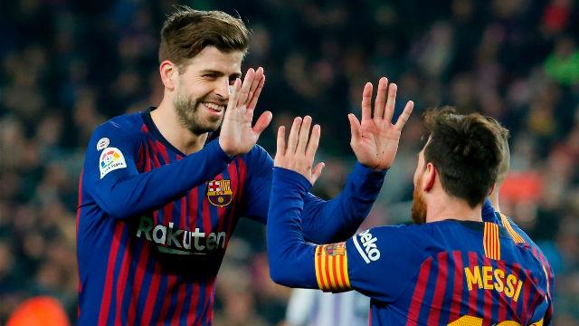 El 1x1 del Barça ante el Valladolid