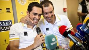 Alberto Contador e Ivan Basso estarán en la Colombia Oro y Paz
