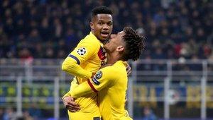 Ansu Fati liquidó las opciones del Inter de Milán