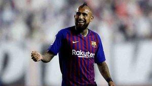 Arturo Vidal puede ser titular ante el Atlético de Madrid