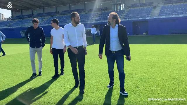 Así ha sido el primer día de Pablo Machín como entrenador del Espanyol