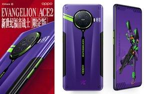Así es el teléfono de Oppo edición Evangelion