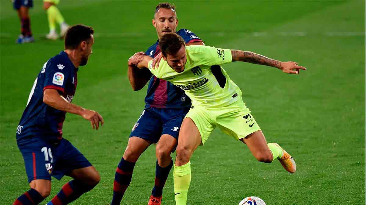 El Atlético no pasa del empate ante el Huesca