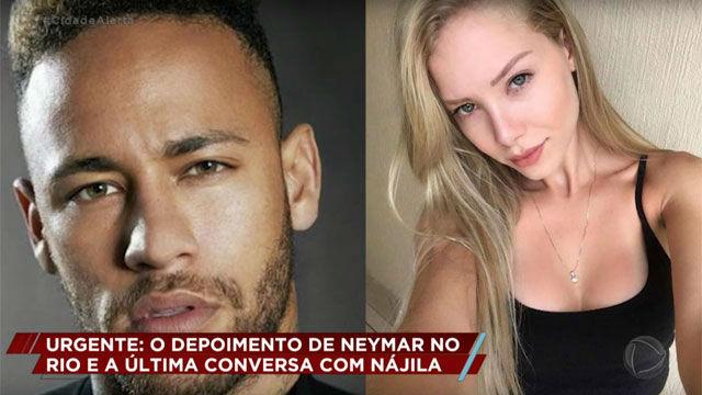 El audio borrado de Najila Trindade a Neymar en el que le recrimina la supuesta violación