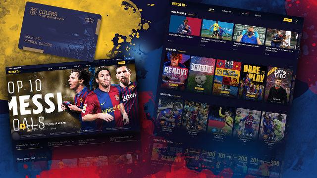 El Barça presenta Barça TV+, su nueva plataforma de Streaming