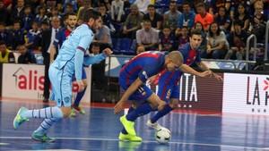 El Barça se ha visto obligado a remontar en dos ocasiones