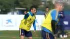 El FC Barcelona, bajo mínimos, se ha ejercitado este jueves en la Ciutat Esportiva Joan Gamper
