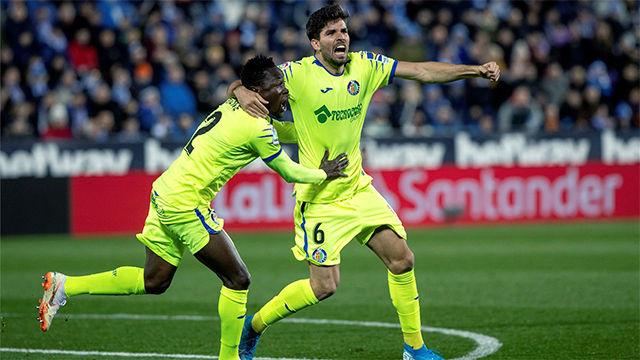 Cabrera abrió el marcador para el Getafe en Leganés