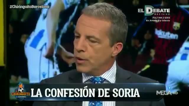 Cristóbal Soria revela que Messi le firmará la Biblia tras su peregrinación al Camp Nou