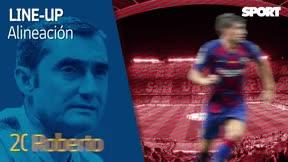 El XI del Barça para el derbi de Barcelona