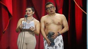 El Desnudo Que Marcó La Gala De Los Goya 2019