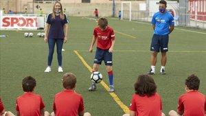 Día de visita en el Barça Academy SPORT