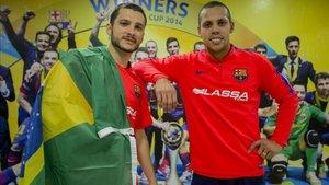 Dyego y Ferrao, dos pesos pesados del Barça y de la verdeamarelha