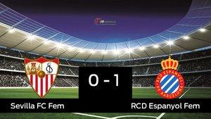 El Espanyol derrotó al Sevilla por 0-1