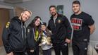 La expedición de NXT visitó a Lily Harrison, una de las víctimas del atentado de Manchester