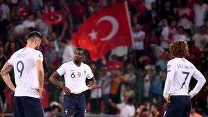 Francia se mide a Turquía, última selección que la derrotó