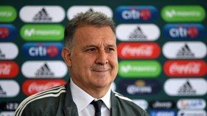 Gerardo Martino lleva cinco victorias seguidas con México