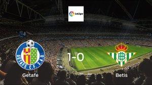 Getafe earned hard-fought win over Real Betis 1-0 at Coliseum Alfonso Pérez