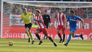El Girona sumó otro triunfo