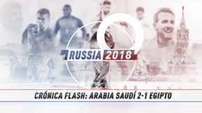 Un gol de Salem en el último minuto le da la victoria a Arabia Saudí