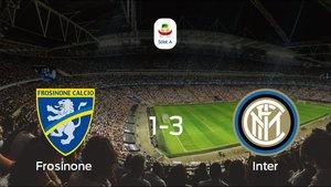 El Inter venció al Frosinone por 1-3