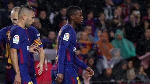 Jordi Alba y Nelson Semedo, laterales del FC Barcelona
