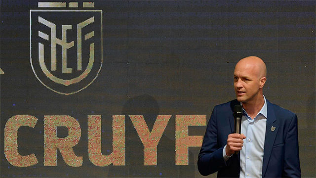 Jordi Cruyff fue anunciado como seleccionador de un Ecuador renovado