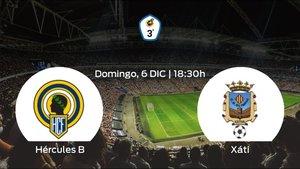 Jornada 7 de la Tercera División: previa del duelo Hércules de Alicante B - Olimpic Xátiva