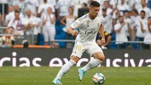 Jovic, en el once titular del Real Madrid
